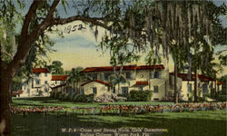 Cross and Strong Halls, Girls' Dormitories, Rollins College