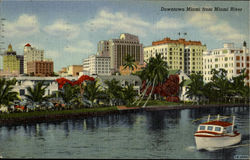 Downtown Miami from Miami River