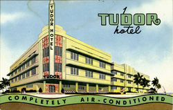 TUDOR HOTEL, CORNER 11 th STREET MIAMI BEACH
