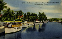 The Fishing and Pleasure Fleet on Mysterrious New River