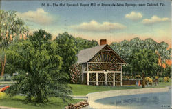 The Old Spanish Sugar Mill, Ponce de Leon Springs near Deland