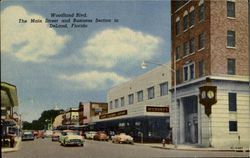Woodland Blvd, Main Street and Business Section in DeLand
