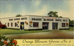Orange Blossom Groves No.2 Fruit Stand