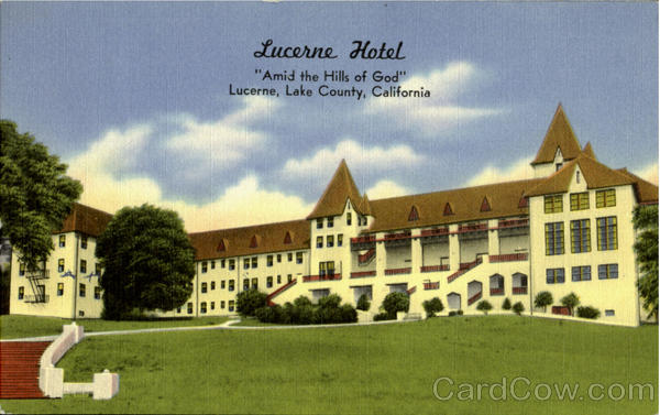 Lucerne Hotel Lake County California
