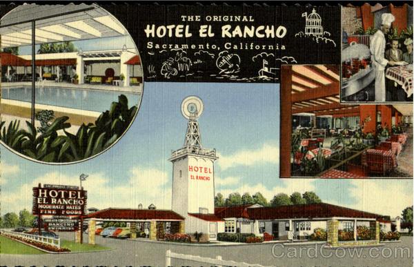 Hotel El Rancho Sacramento Ca
