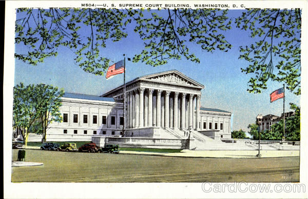U.S.Supreme Court Buildin Washington District of Columbia