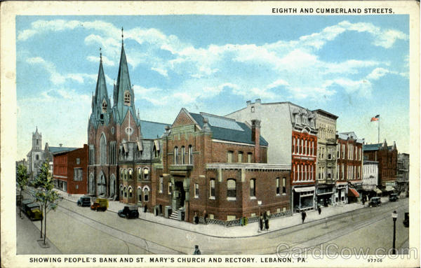 Eighth And Cumberland Streets.Showing People'S Bank And St ...