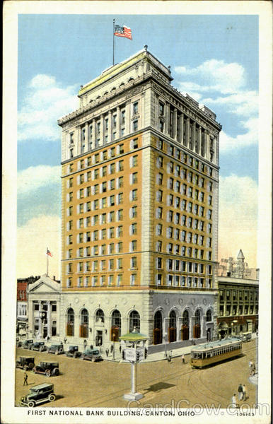 First National Bank Building Canton Ohio