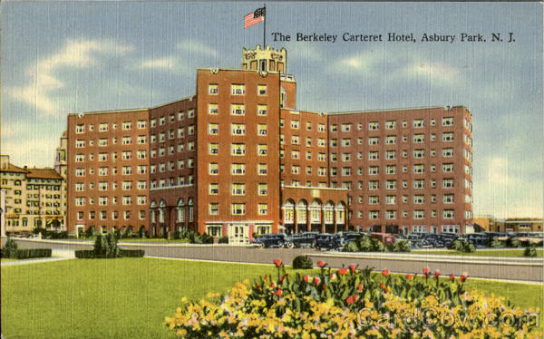 The Berkely Carteret Hotel Asbury Park New Jersey
