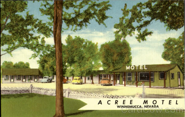 Acree Motel Winnemucca Nevada