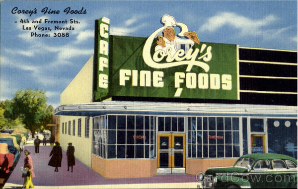 Carey's Fine Foods, 4th and Fremont Sts. Las Vegas Nevada