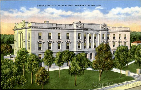 Greene County Court House Springfield Missouri