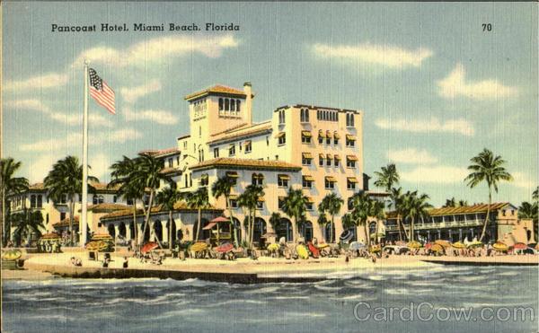 Pancoast Hotel Vintage Postcard