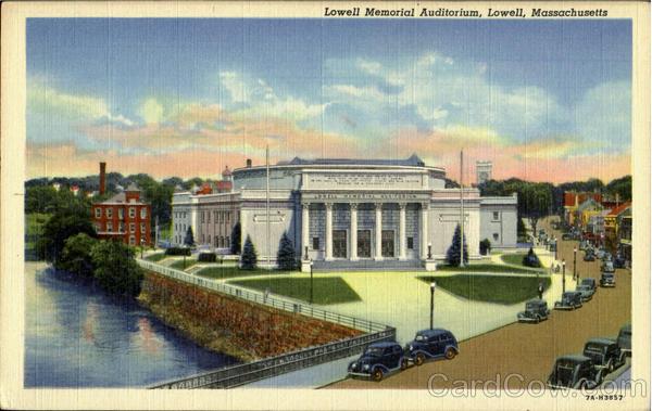 Lowell Memorial Auditorium Opened in 1922 - RichardHowe com