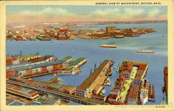 General View Of Waterfront Reston Massachusetts