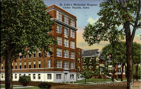 St.Luke's Methodist Hospital Cedar Rapids Iowa