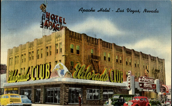 Apache Hotel, 2nd and Fremont Sts Las Vegas Nevada