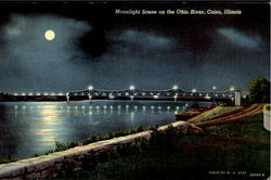 Moonlight Scene on the Ohio River