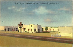El Rey Motel, 1-1/2 Miles South On Cavern Road