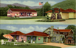 Presidential Motel Court, U.S. Route 2 - 1 Mile West Of Town