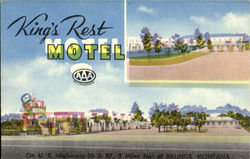 King'S Rest Motel, Two Miles East On U.S. 10 & 87