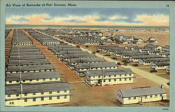 Barracks At Fort Devens