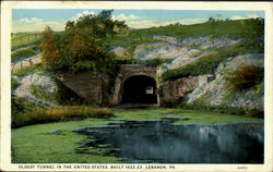 Oldest Tunnel In The United States,Built 1822-23