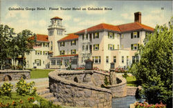 Columbia Gorge Hotel Finest Tourist Hotel on Columbia River