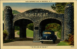 Entrance Gate To Montreat