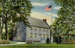 The Conference House (Eaected 1668) Tottenville
