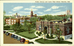 Public Library and Junior High School
