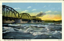 Sault Rapids and International Bridge