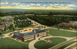 Administration Building, Camp Le jeune,Marine Base