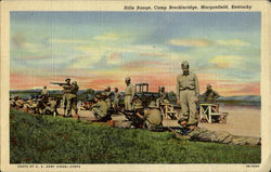 Rifle Range, Camp Brecknridge