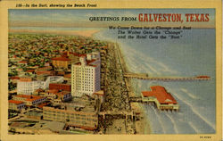 Galveston,Texas Postcard