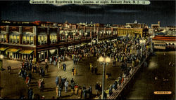 General View Boardwalk from Casino at night