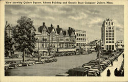View showing Quincy Square ,Adams building and Granite Trust Company