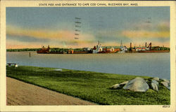 State Pier And Entrance To Cape Cod Canal