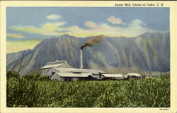 Suger Mill Postcard