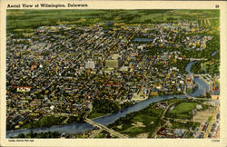 Aerial View of Wilmington