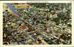 Air View Of Stockton