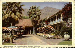 East Entrance The Desert Inn