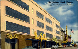 The Golden Bank Casina Reno's Finest Entertoinment Center Postcard