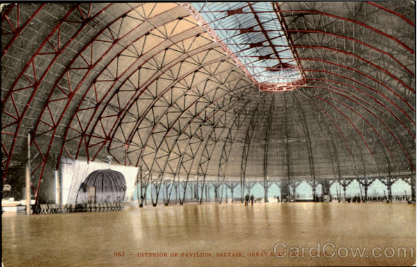 Interior Of Pavilion, Saltair Great Salt Lake Utah