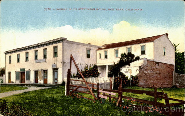 Robert Louis Stevenson House Monterey California