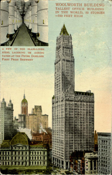Woolworth Building New York City Miscellaneous