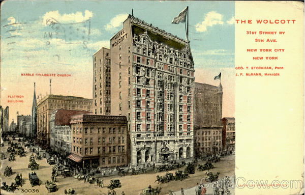The Wolcott, 31st Street, 5th Ave New York City