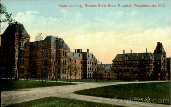 Main Building Hudson River State Hospital Poughkeepsie New York