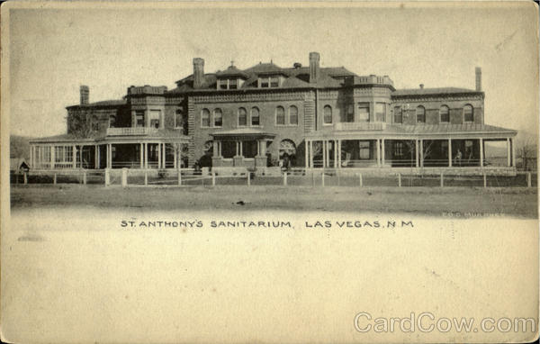 St. Anthony's Sanitarium Las Vegas New Mexico