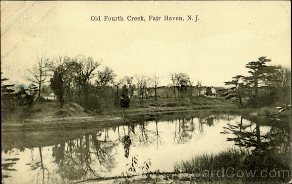 Old Fourth Creek Fair Haven New Jersey